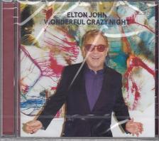 WANDERFUL CRAZY NIGHT CD ELTON JOHN