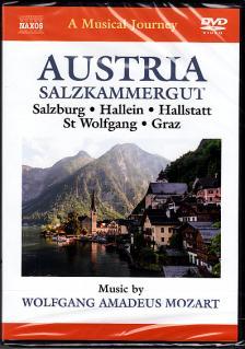 MOZART - AUSTRIA - SALZKAMMERGUT - SALZBURG - HALLEIN - HALLSTATT DVD