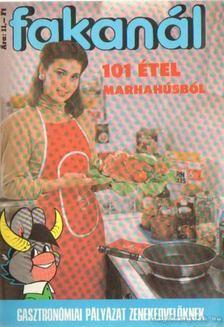 Fakanál 101 étel marhahúsból [antikvár]