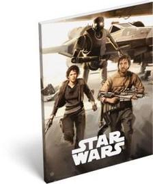 12269 - Notesz papírfedeles A/7 Star Wars Rogue One Hangar 16500304
