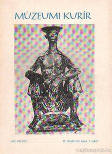 DANKÓ IMRE - Múzeumi Kurír 1978. július 27. szám (III. kötet 7. szám) [antikvár]