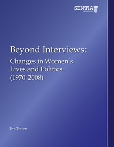Travers Eva - Beyond Interviews - Changes in Women's Lives and Politics (1970-2008) [eKönyv: epub, mobi]