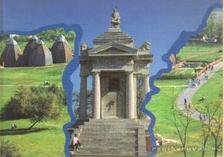 Ópusztaszer-Nemzeti Emlékpark távlati képe [antikvár]