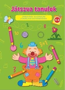 - Játszva tanulok 4-6/Játékos írás és számolás(zöld)