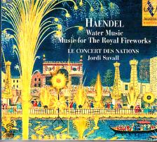 Handel - WATER MUSIC, MUSIC FOR THE ROYAL FIREWORKS SACD SAVALL, LE CONCERT DES NAT.
