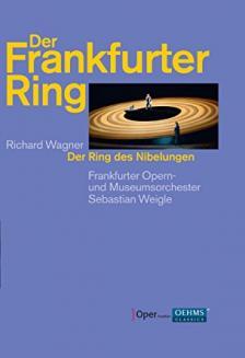 Wagner - DER RING DES NIBELUNGEN - DER FRANKFURTE RING 8DVD SEBASTIAN WEIGLE