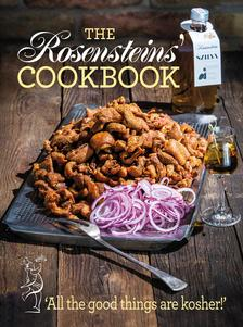 "- ROSENSTEIN THE COOKBOOK - "" All the good things are kosher"""
