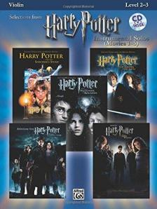SELECTIONS FROM HARRY POTTER FOR VIOLIN AND PIANO +CD