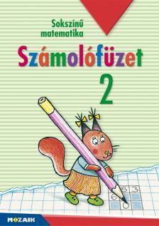MS-1723 SZÁMOLÓFÜZET 2. - SOKSZÍNŰ MATEMATIKA