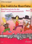 LANDGRAF, GEFION - DIE FRÖHLICHE QUERFLÖTE,  QUERFLÖTENSCHULE FÜR DEN EINZEL- UND GRUPPENUNTERRICHT BAND 1