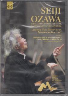 BEETHOVEN - SYMPHONIES NOS. 2 & 7 - MATSUMOTO FESTIVAL DVD SEIJI OZAWA