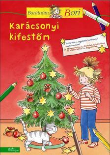 Uli Velte - Karácsonyi kifestőm - Barátnőm, Bori foglalkoztató füzet