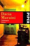 MARAINI, DACIA - Stimmen [antikvár]