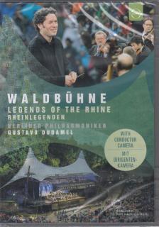 SCHUMANN, WAGNER - WALDBÜHNE 2017 DVD GUSTAVO DUDAMEL