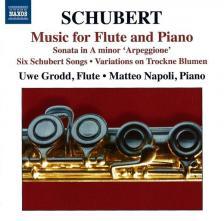 SCHUBERT - MUSIC FOR FLUTE & PIANO CD GRODD, NAPOLI