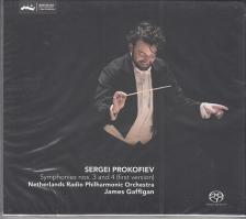 PROKOFIEV - SYMPHONIES NOS.3 AND 4 (FIRST VERSION) CD JAMES GAFFIGAN
