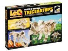 LaQ - LaQ Skeleton of Dinosaur Triceratops