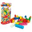 - Clemmy Plus: 120 darabos puha építőkocka készlet táskában