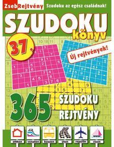 CSOSCH KIADÓ - ZsebRejtvény SZUDOKU Könyv 37.