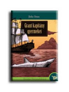 Jules Verne - Grant kapitány gyermekei - KEMÉNY BORÍTÓS