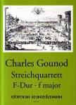 GOUNOD, CHARLES - STREICHQUARTETT F-DUR ERSTAUSGABE (L.J.DROP / I.A. VON WIJK)