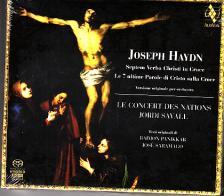Haydn - DIE SIEBEN LETZTE WORTE SACD SAVALL, LE CONCERT DES NATIONS