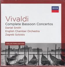 Vivaldi - COMPLETE BASSOON CONCERTOS 5CD DANIEL SMITH