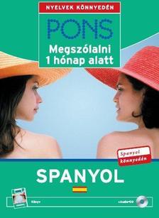 - PONS MEGSZÓLALNI 1 HÓNAP ALATT - SPANYOL - KÖNYV + CD