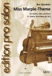 GOODWIN, RON - MISS MARPLE-THEME FÜR VIOLINE,  CELLO UND PIANO ARR. VON UWE RÖSSLER