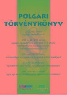 szerk.Szilner György - Polgári Törvénykönyv  A/4-es méret 2018.jan.