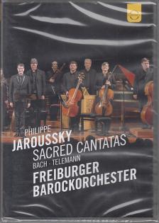 BACH, TELEMANN - SACRED CANTATAS DVD JAROUSSKY