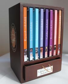 - Csokoládés édességek kiskönyvtára - 8 kötet díszdobozban