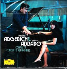 PROKOFIEV, RAVEL, CHOPIN, LISZT, BEETHOVEN - COMPLETE CONCERTO RECORDINGS 5CD ARGERICH, ABBADO