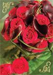 VA284 - Virágos képeslap LC6, VA284