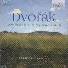 DVORAK - COMPLETE STRING QUARTETS 10CD STAMITZ QUARTET