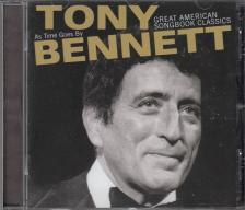 AS TIME GOES BY CD TONY BENNETT - GREAT AMERICAN SONGBOOK CLASSICS -