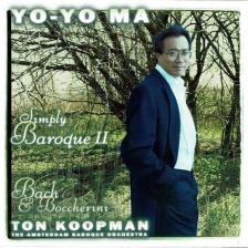 BACH/BOCCHERINI - SIMPLY BAROQUE II. CD YO-YO MA