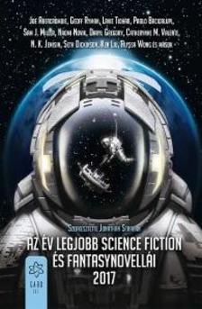 Jonathan Strahan - Az év legjobb science fiction és fantasynovellái 2017