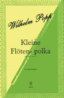 POPP, WILHELM - KLEINE FLÖTEN - POLKA OP.463 NO.3 FÜR FLÖTE UND KLAVIER