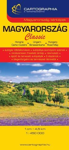 Cartographia Kiadó - Magyarország Classic autótérkép