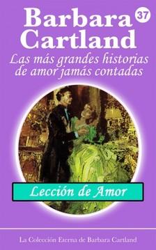 Barbara Cartland - Lección de Amor [eKönyv: epub, mobi]