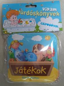 - Játékok - Vidám fürdőskönyvek csipogóval
