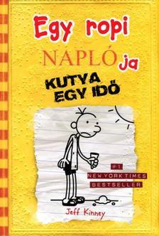 Jeff Kinney - Egy ropi naplója 4. Kutya egy idő - kemény borítós