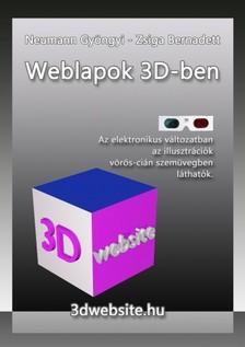 Neumann Gyöngyi Zsiga Bernadett - Weblapok 3D-ben [eKönyv: pdf, epub, mobi]