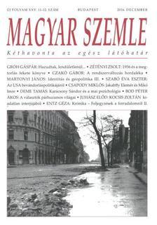 - MAGYAR SZEMLE - 2016. DECEMBER