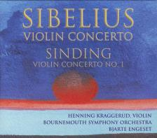 SIBELIUS/SINDING - VIOLIN CONCERTO CD