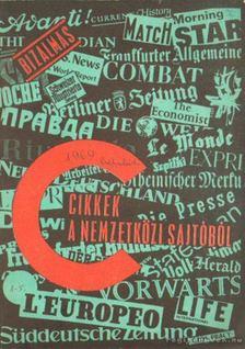 Cikkek a nemzetközi sajtóból 1969. dec [antikvár]