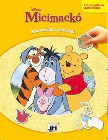 - Micimackó - A4 Szórakoztató matricák