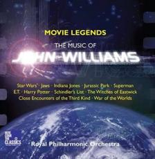 JOHN WILLIAMS - MOVIE LEGENDS CD ROYAL PHILHARMONIC ORCHESTRA