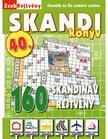 CSOSCH KIADÓ - ZsebRejtvény SKANDI Könyv 40. ###<!--span style='font-size:10px;'>(G)</span-->